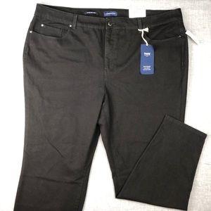 Charter Club Jeans - Charter Club Black Skinny Jeans Plus Size 22W